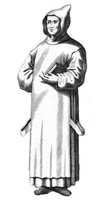 monnik van abdij ter doest